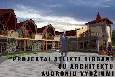 Architektas Linas Mackevičius - Projektai dirbant