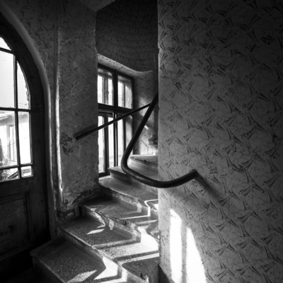 Tobbe Malm Photography - Old shabby staircases that are not repaired since the former Soviet empire