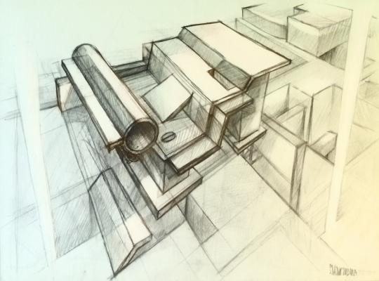 SADLAVE Evaldas Baškys - Urban concrete