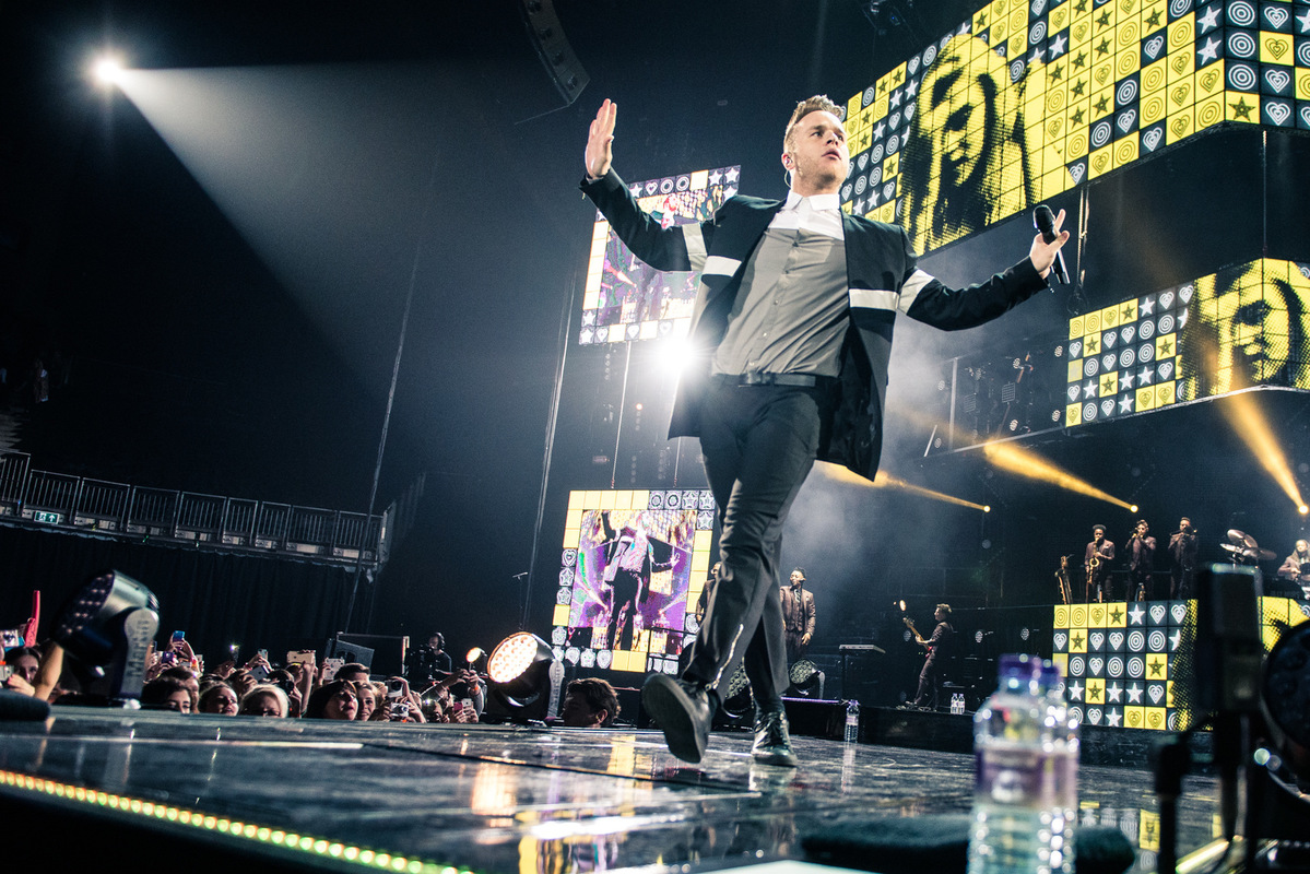 Drew Stewart Photography - Music Photographer Live/Promo - Olly Murs