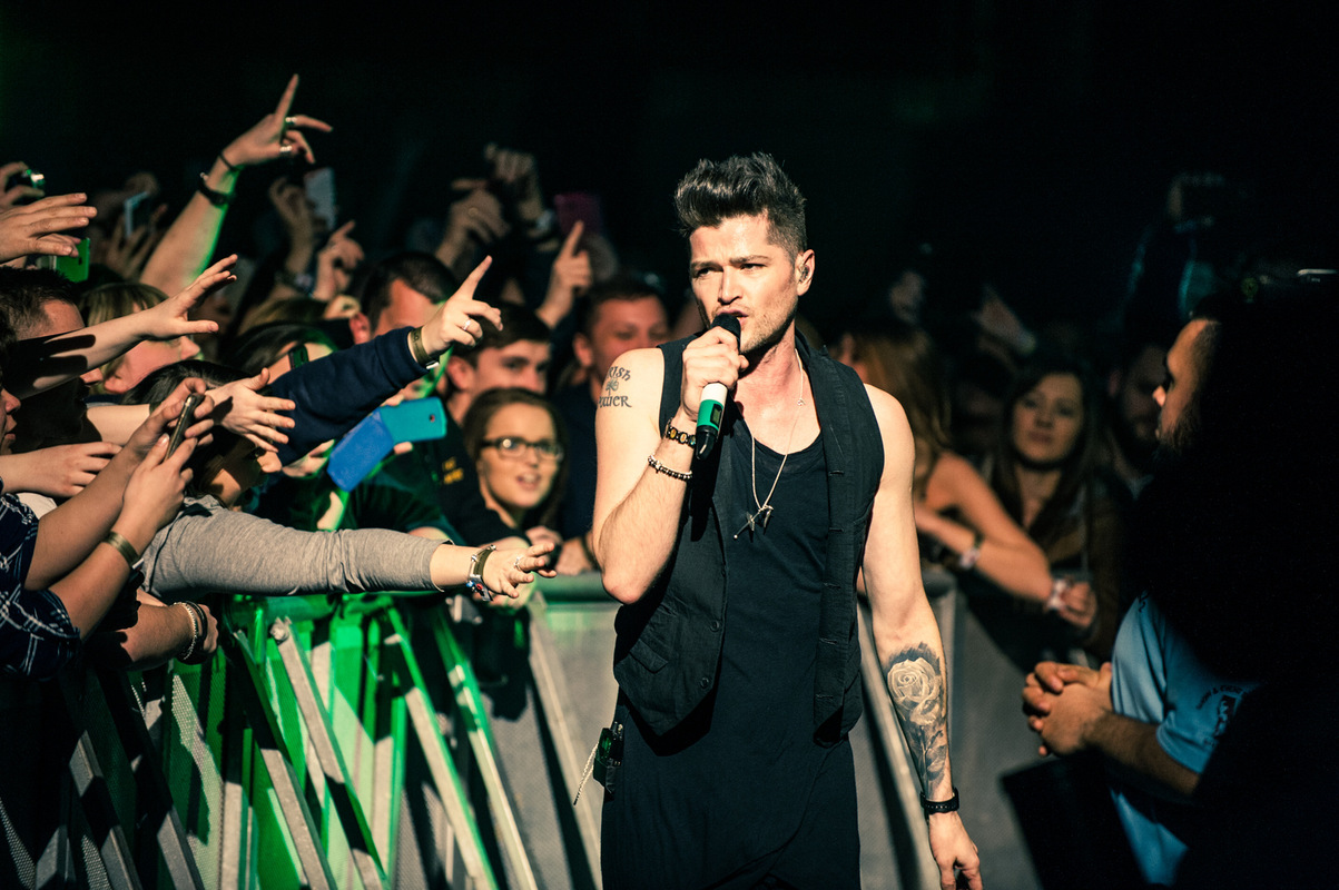 Drew Stewart Photography - Music Photographer Live/Promo - The Script