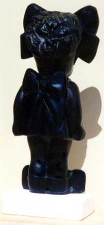 www.lenaflodman.com - Black Doll, black marble, 1995