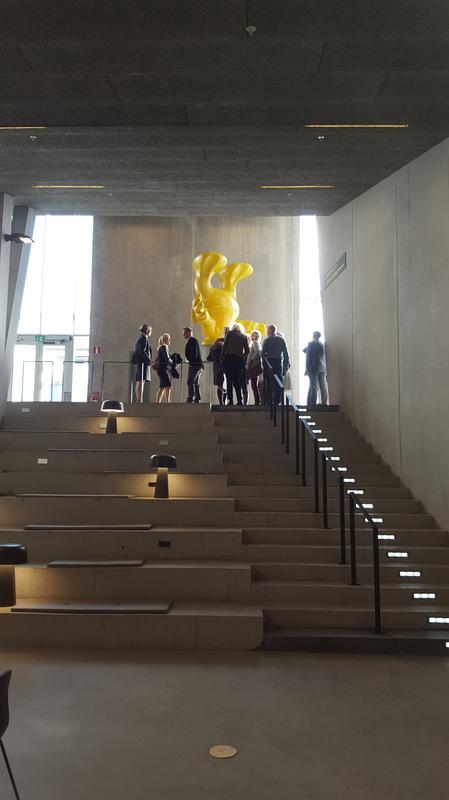 www.lenaflodman.com - Ankeborg, resin and concrete 2015 Placed at Nova, Örebro Universitet by Statens konstråd.