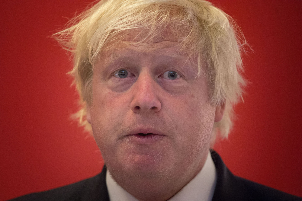 Victoria Jones Press Association Photographer - July 2017  Foreign Secretary Boris Johnson speaks at the launch of Stonewalls Global Workplace Equality Index at the Andaz Hotel in the City of London.