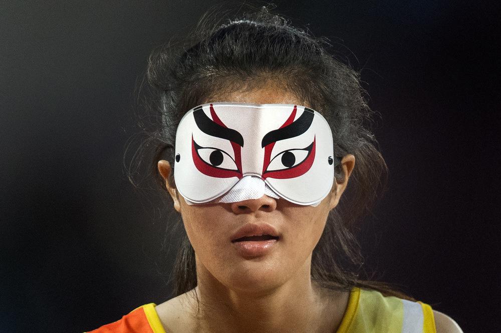 Victoria Jones Press Association Photographer - July 2017  Thailands Kewalin Wannaruemon in the Womens 100m T11 final during day five of the 2017 World Para Athletics Championships at London Stadium.