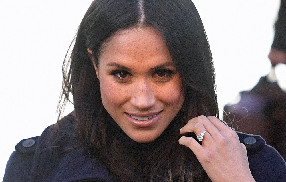 Victoria Jones Press Association Photographer - December 2017  Meghan Markle leaving the Nottingham Contemporary in Nottingham duringherfirst official engagement with Prince Harry.