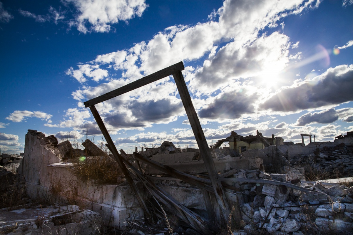 linda cartridge photographer and artist - Lago Epecuen, Argentina