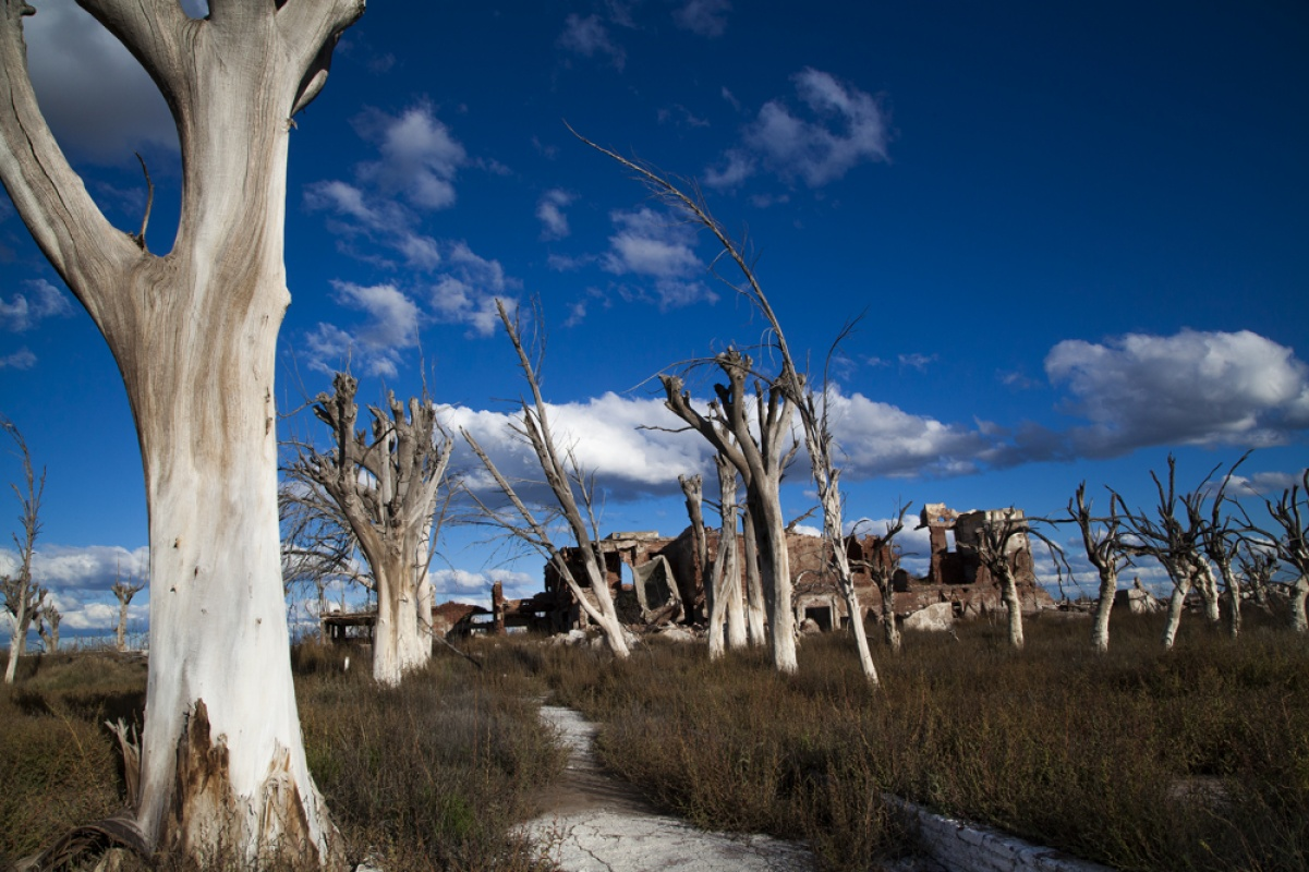 linda cartridge photographer and artist - Epecuen, Argentina