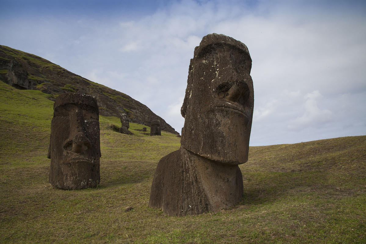 linda cartridge photographer and artist - Easter Island