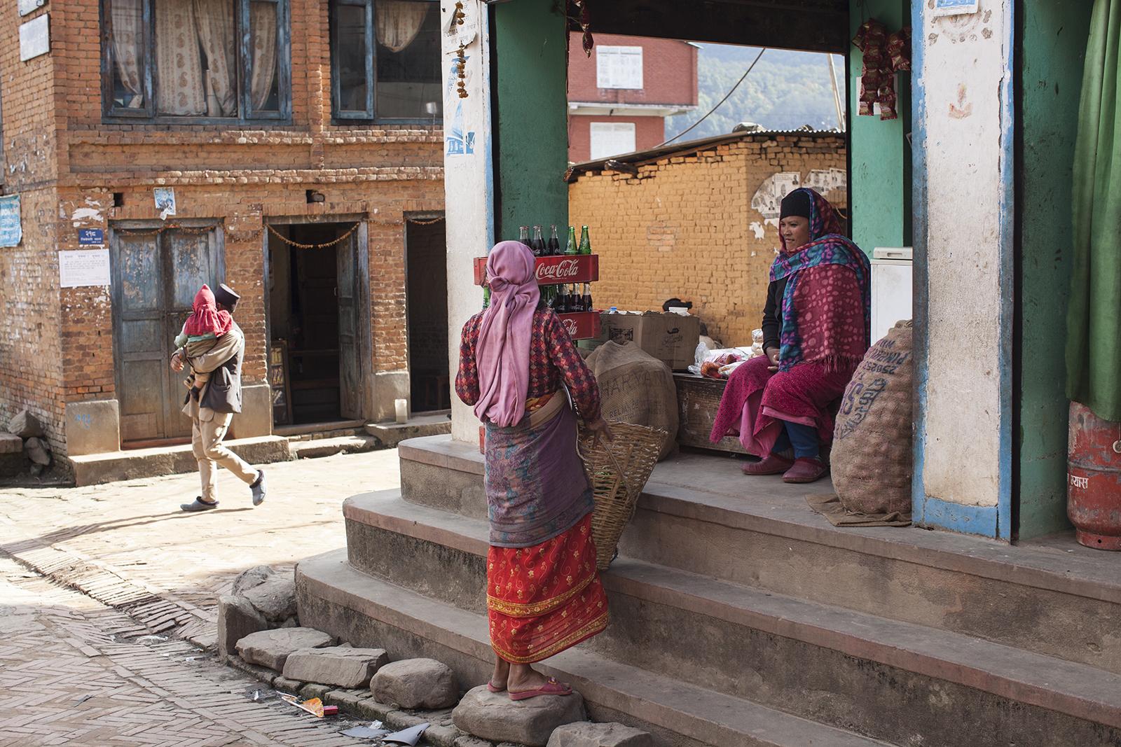 linda cartridge photographer and artist - Nepal