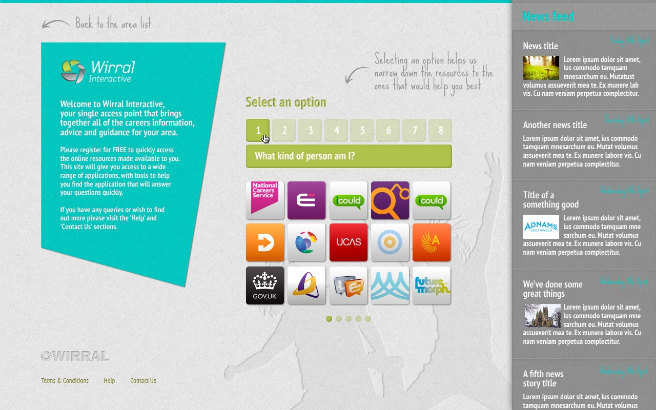 Top UI & UX Design - ByDaveHales Portfolio WF04