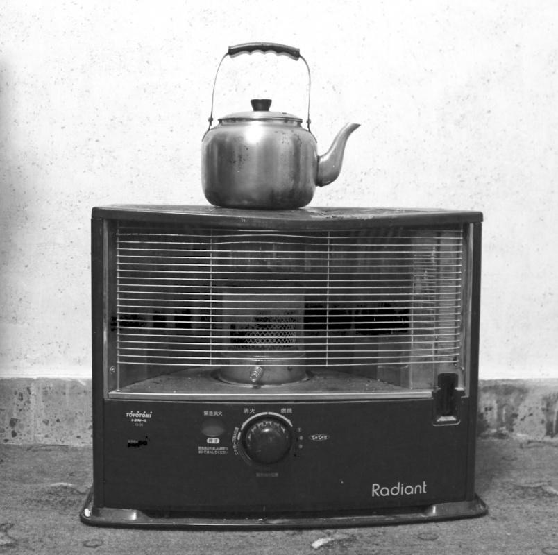Tariq AlHadad - Room heater, tea pot on top. Baghdad, IRAQ