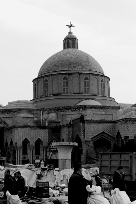 Tariq AlHadad - The Virgin Mary Church, Baghdad, IRAQ