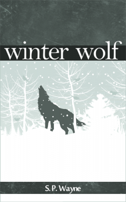 T.K. Hunter - Custom eBook Cover Designer - The final cover for Winter Wolf, currently available on Amazon.