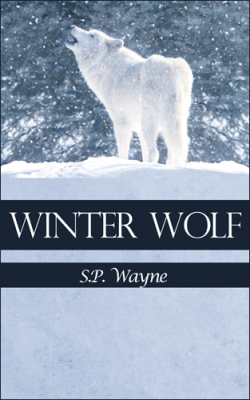 T.K. Hunter - Custom eBook Cover Designer - Last alternate cover concept for Winter Wolf.