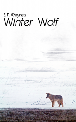 T.K. Hunter - Custom eBook Cover Designer - An alternate cover concept for Winter Wolf.