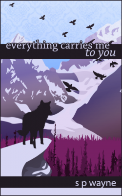 T.K. Hunter - Custom eBook Cover Designer - The Cover for Everything Carries Me to You, currently available on Amazon.
