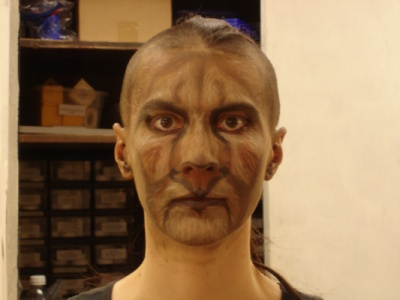 Moria Cerys Jenks - Stage Makeup Class Projects Prof. Richard Nimke 2011, UW-Eau Claire
