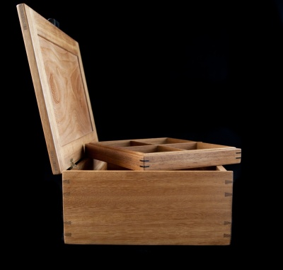 Fergal Spain Fine Furniture - Jewellery Box