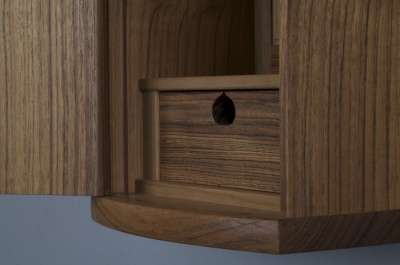 Fergal Spain Fine Furniture - Key Cabinet