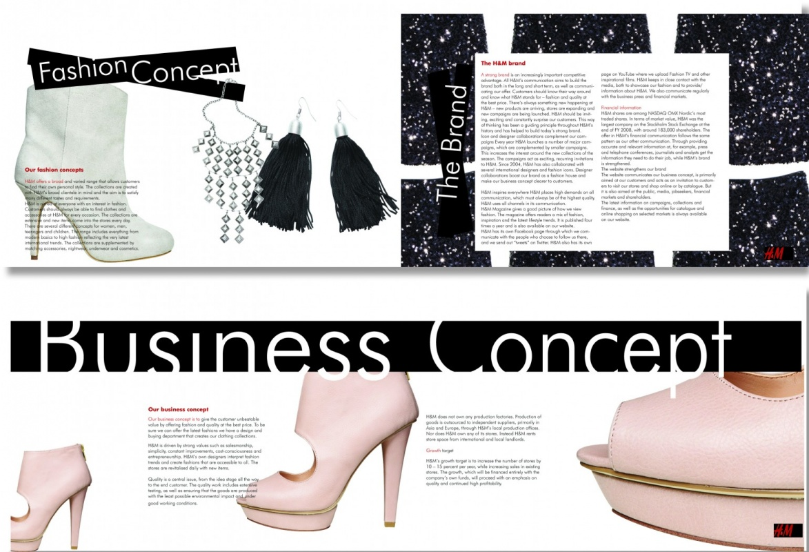 MRS K Inspirebeinspired - Corporate Brochure Fashion Company