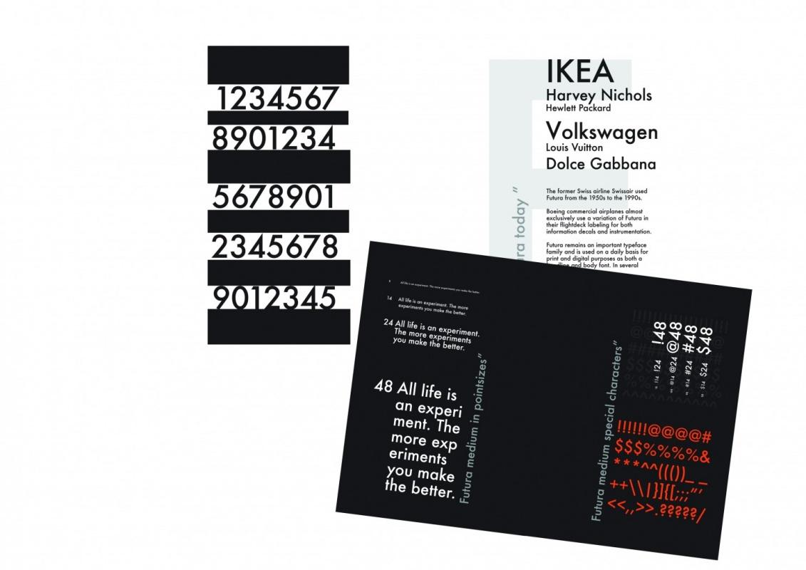 MRS K Inspirebeinspired - Futura Typespecimen