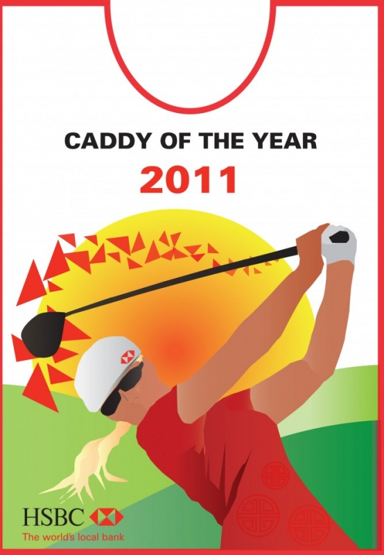 MRS K Inspirebeinspired - HSBC Caddy of the Year bib competition
