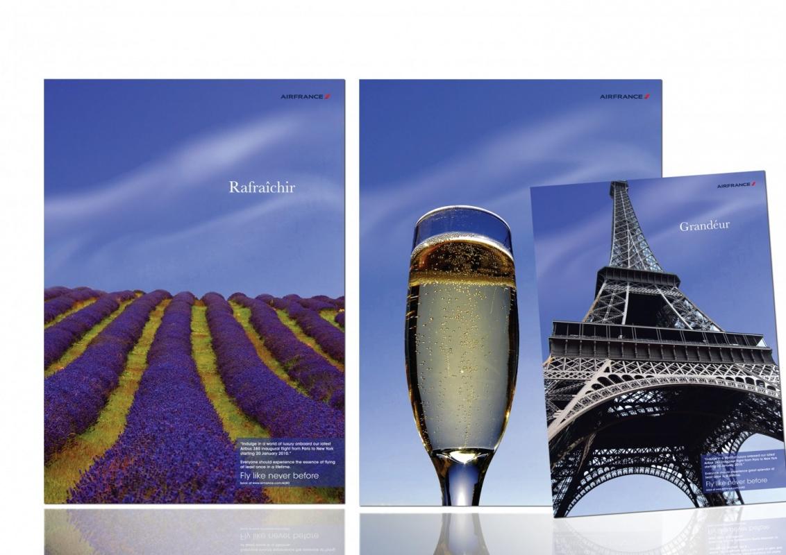 MRS K Inspirebeinspired - Air France advertising suggestion