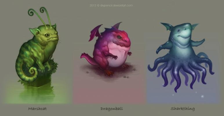 David Hakobian: Illustration & Concept Art - Creature Designs