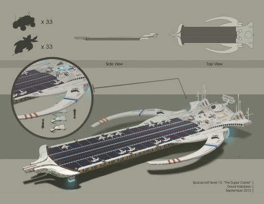 David Hakobian: Illustration & Concept Art - Spacecraft level 10
