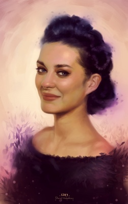 David Hakobian: Illustration & Concept Art - Marion Cotillard
