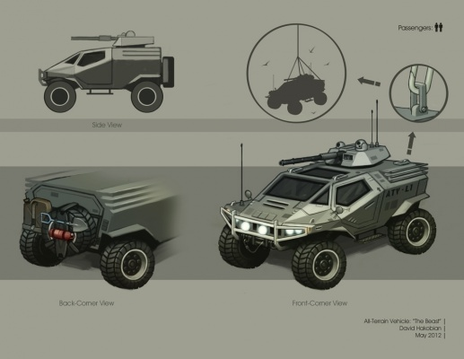 David Hakobian: Illustration & Concept Art - All Terrain Vehicle