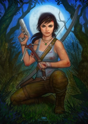 David Hakobian: Illustration & Concept Art - Tomb Raider Reborn (contest submission)