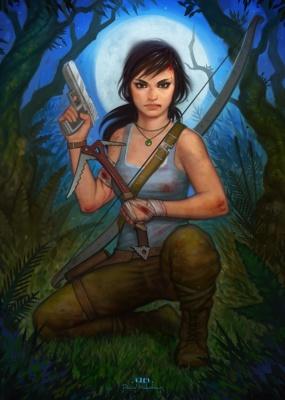 David Hakobian: Illustration & Concept Art - Tomb Raider Reborn (contest submission)