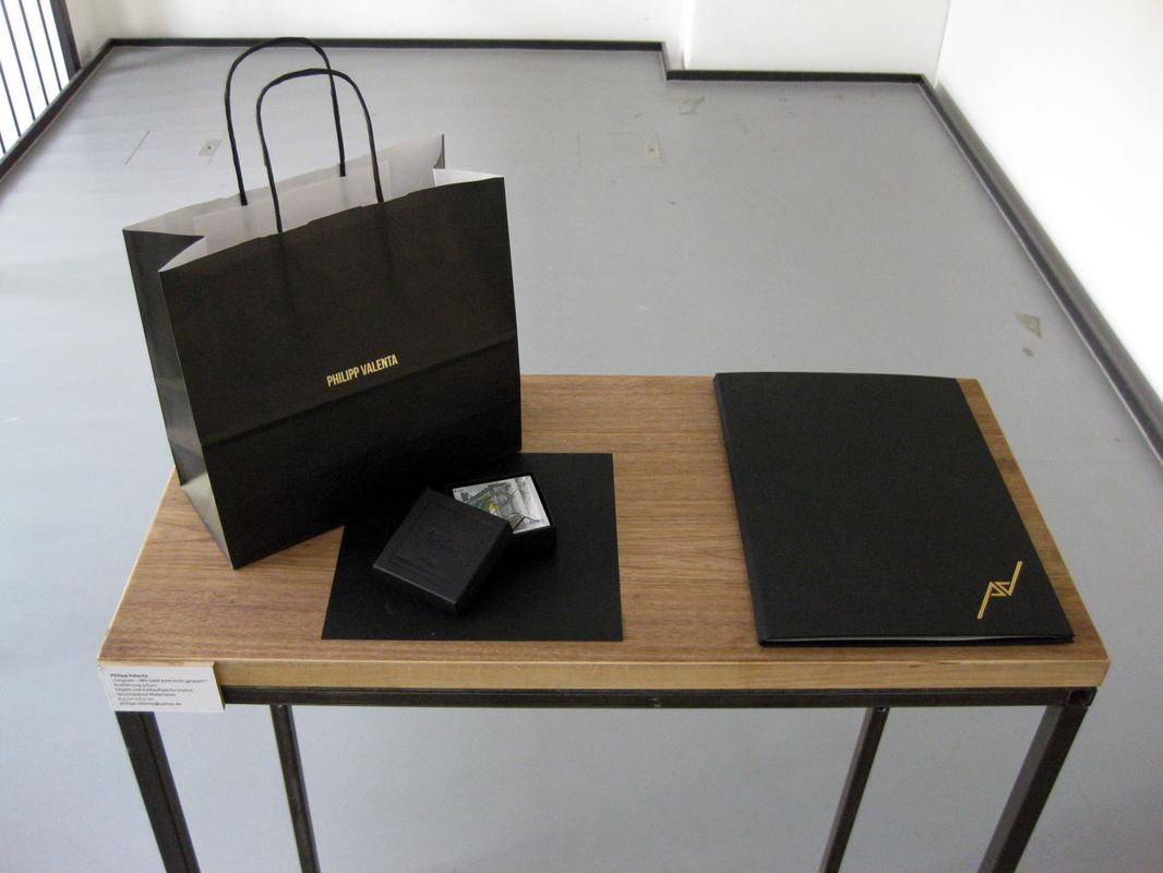 Philipp Valenta - Ausstellungsansicht Van-de-Velde-Bau, Bauhaus-Universität Weimar