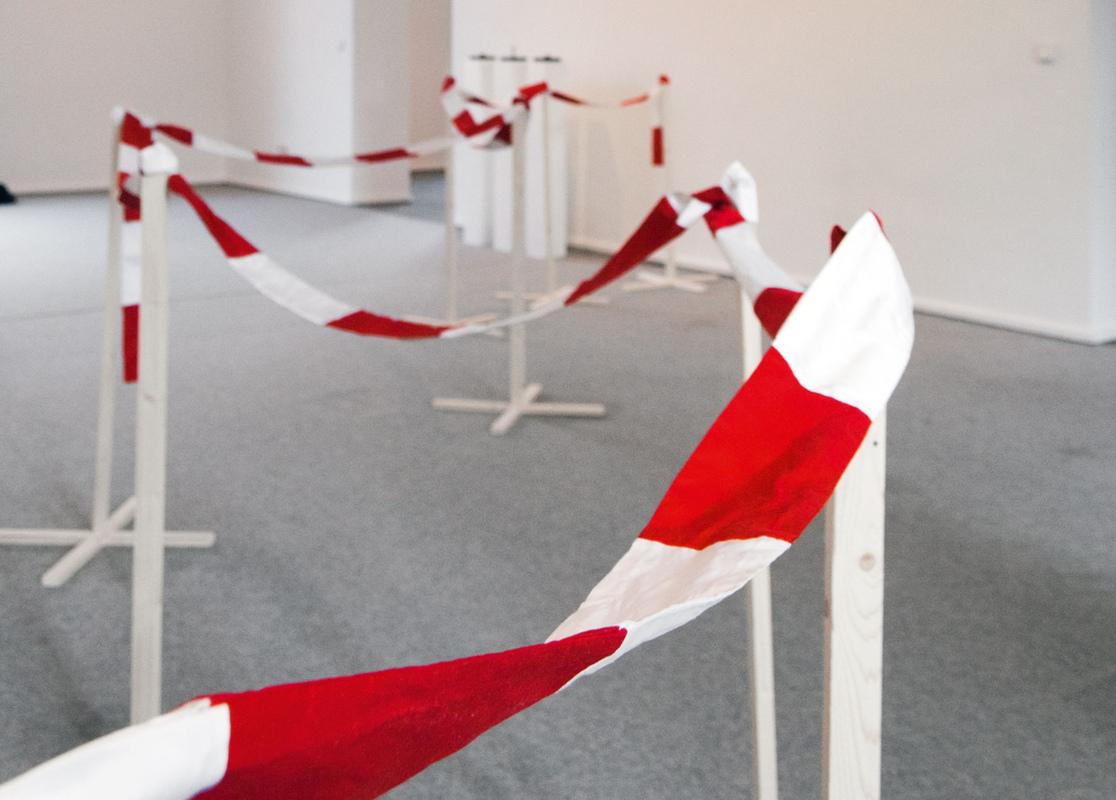Philipp Valenta - Ausstellungsansicht Stästische Galerie Viersen, 2012
