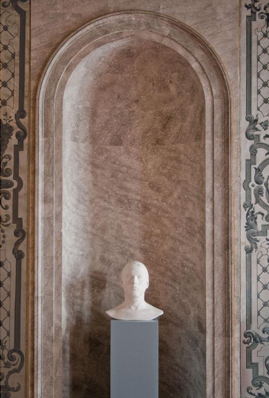 Philipp Valenta - Apsis im Silbergrauen Salon, Schloss Belvedere, Weimar