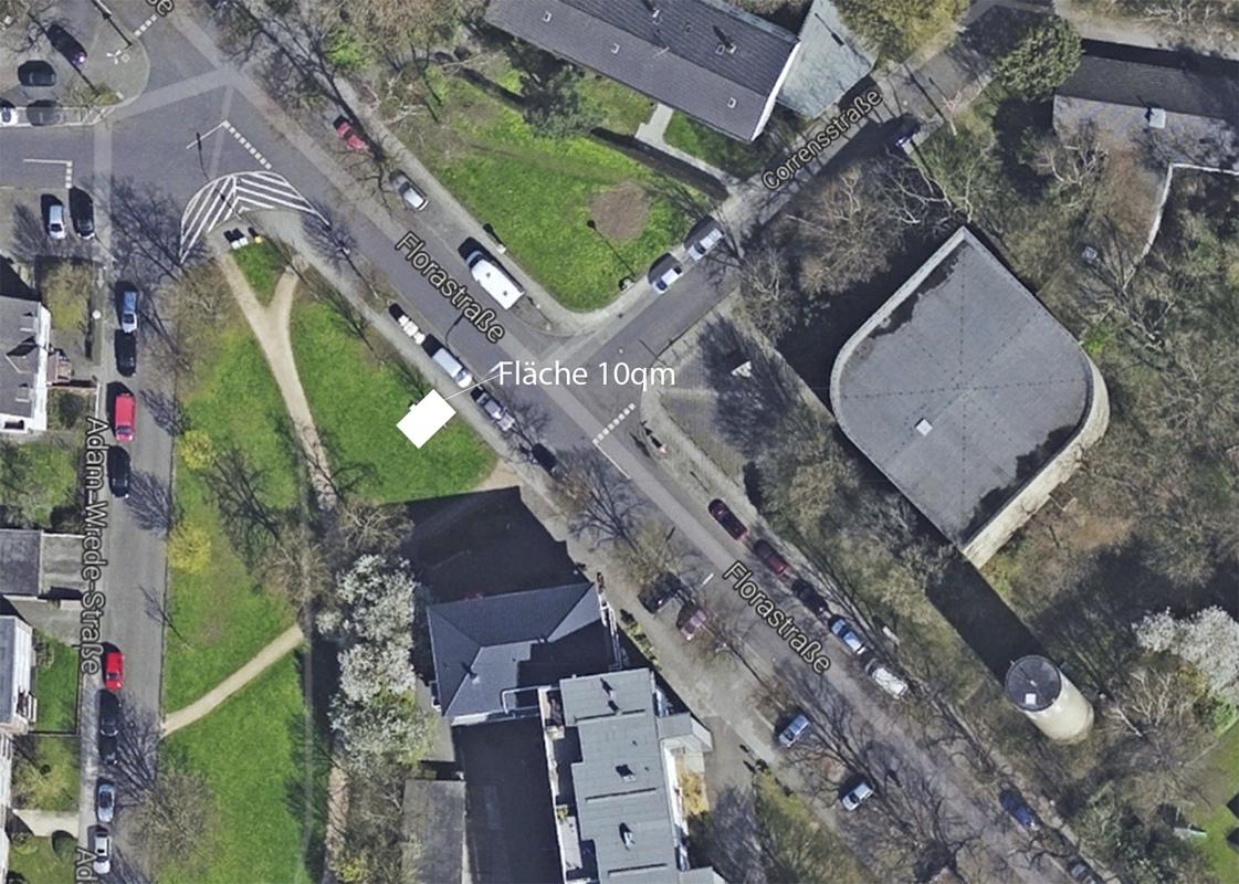 Philipp Valenta - Lageder Fläche (Ausschnitt GoogleMaps)