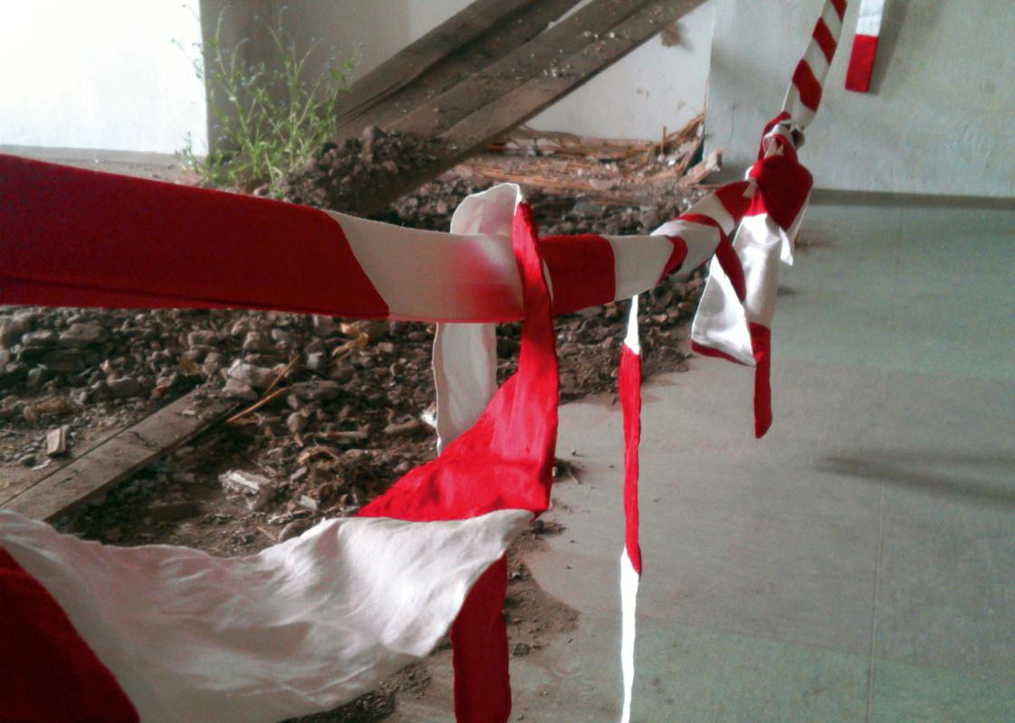 Philipp Valenta - Ausstellungsansicht Defensionskaserne Erfurt, 2013