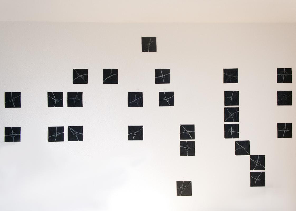 Philipp Valenta - Ausstellungsansicht fkt Bochum, 2012