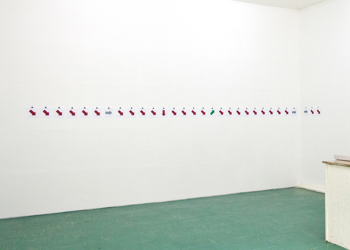 Philipp Valenta - Aussttellungsansicht Neuland, Bochum