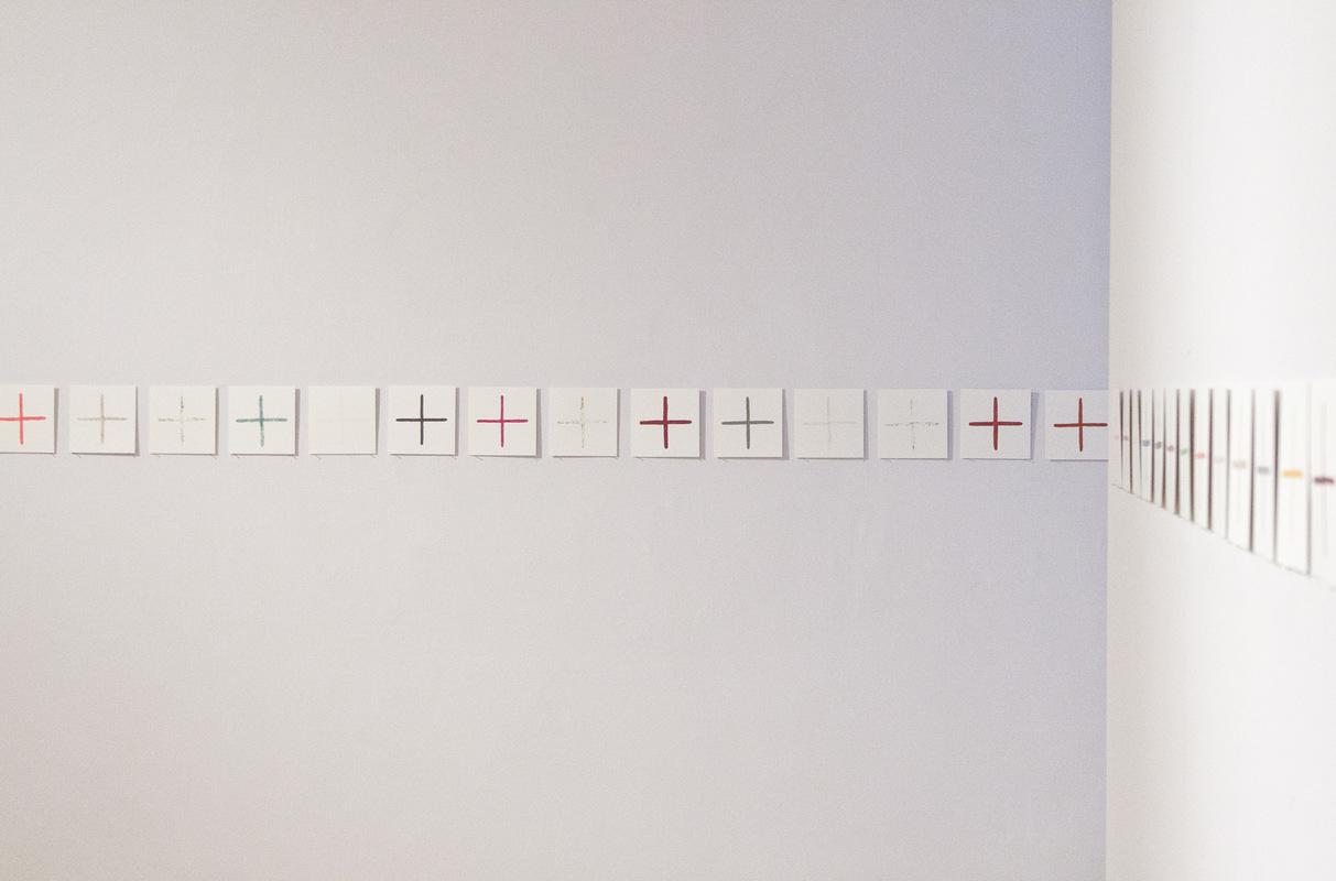 Philipp Valenta - Installationsansicht / installation view Kunsthaus Apolda Avantgarde