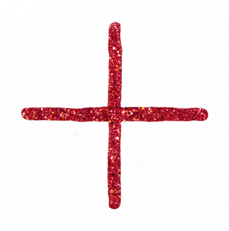 Philipp Valenta - Kreuz /cross Glitter