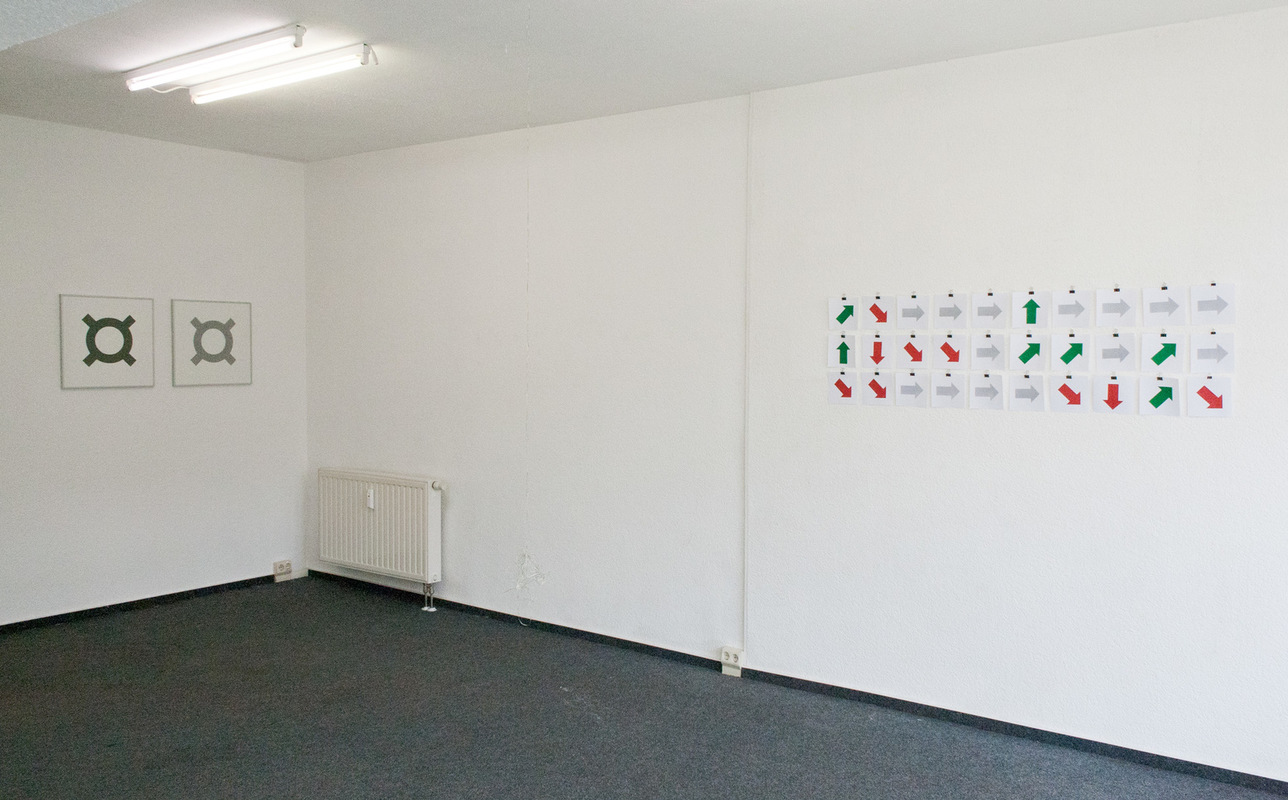 Philipp Valenta - Ausstellungsansicht EX14, Dresden