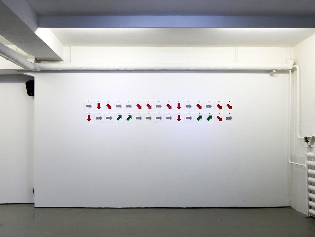 Philipp Valenta - Ausstellungsansicht Kunstverein kunstwerden e.V.