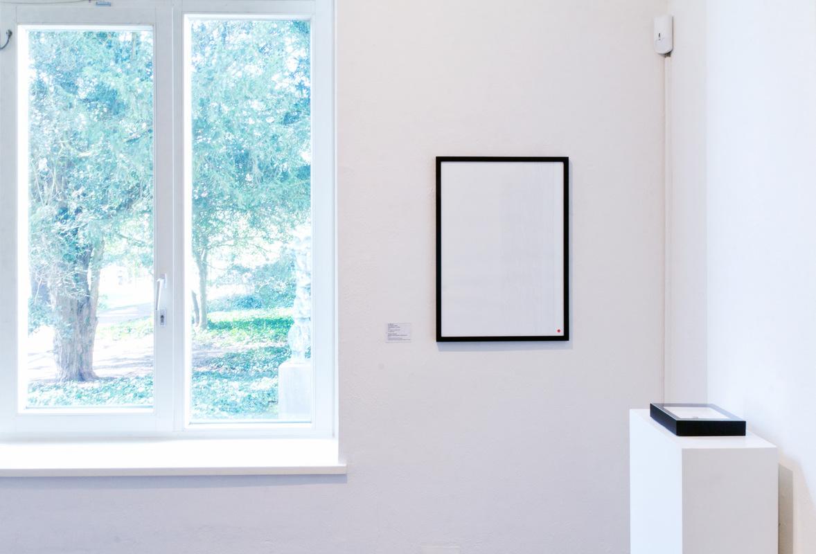 Philipp Valenta - Arbeit Grafische Sammlung der Stadt Viersen, Ausstellungsansicht Schwarz-Weiß, Städtische Galerie Viersen