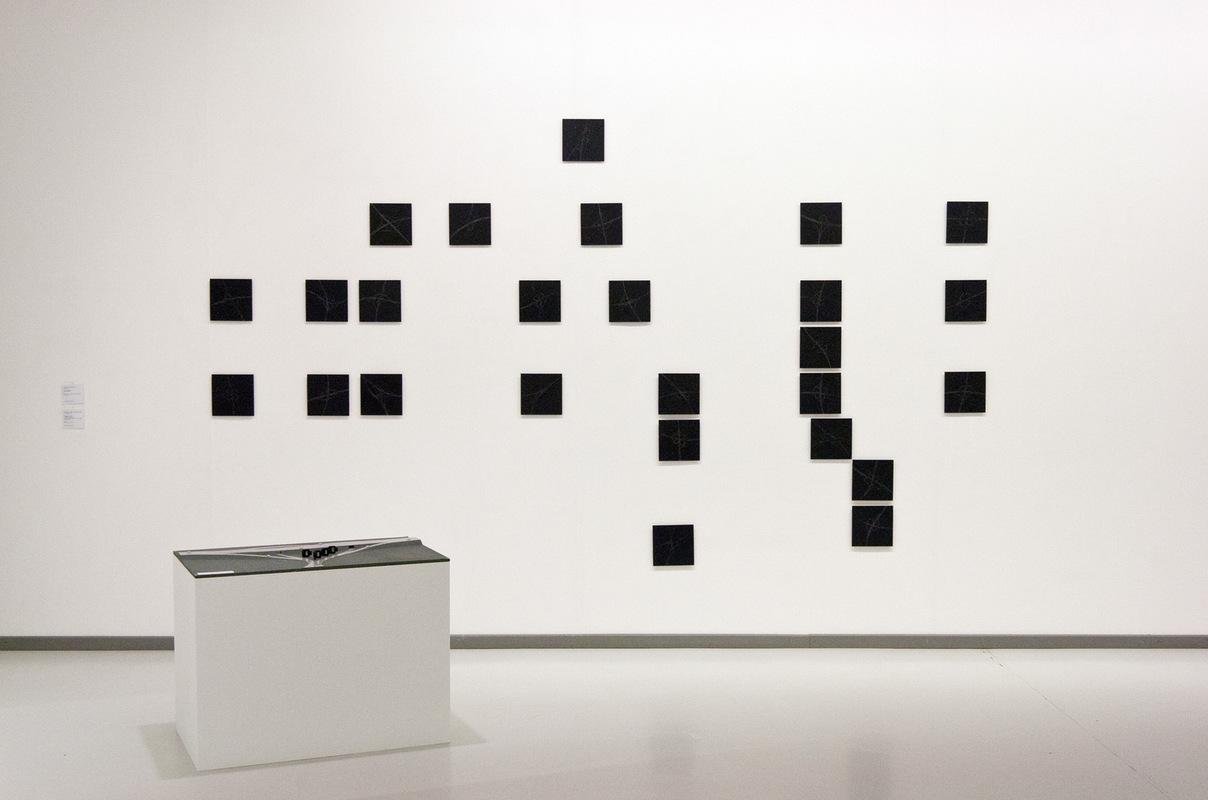 Philipp Valenta - Ausstellungsansicht LUDWIGGALERIE Schloss Oberhausen, 2015