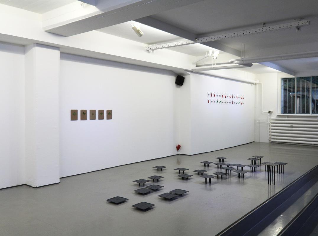 Philipp Valenta - Ausstellungsansicht kunstwerden e.V., 2016