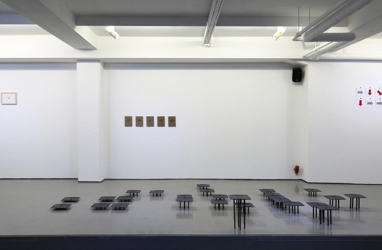Philipp Valenta - Ausstellungsansicht kunstwerden e.V., Essen, 2016