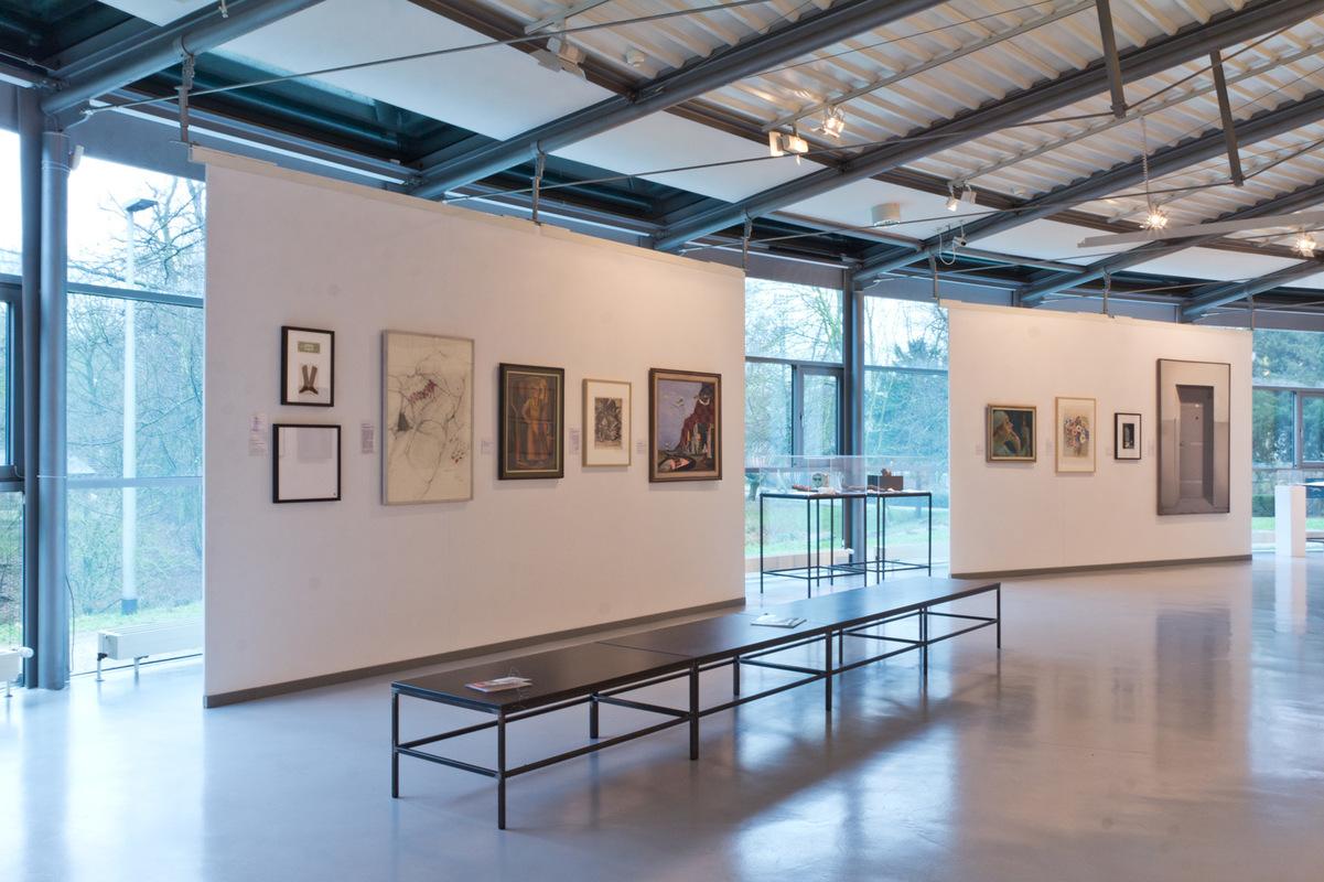 Philipp Valenta - Arbeit Sammlung O, LUDWIGGALERIE Schloss Oberhausen, Ausstellungsansicht Die Sammlung O, Kleines Schloss